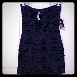 Beautiful strapless mini dress. Brand New w/Tags.